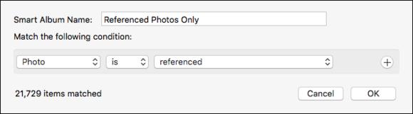 mac911 referenced files smart album