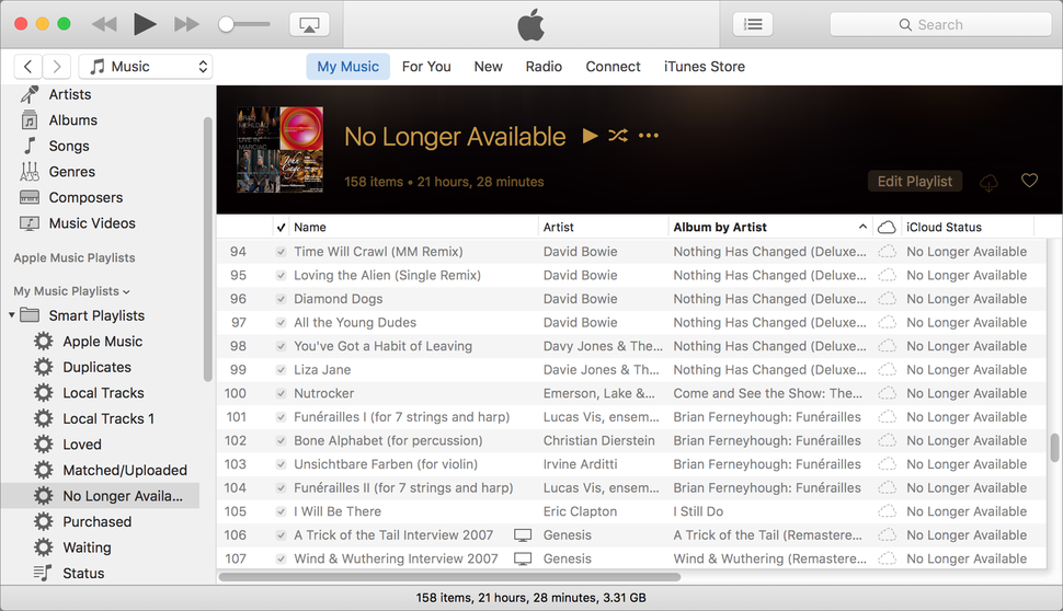 "When ""No Longer Available"" strikes in iCloud Music Library 