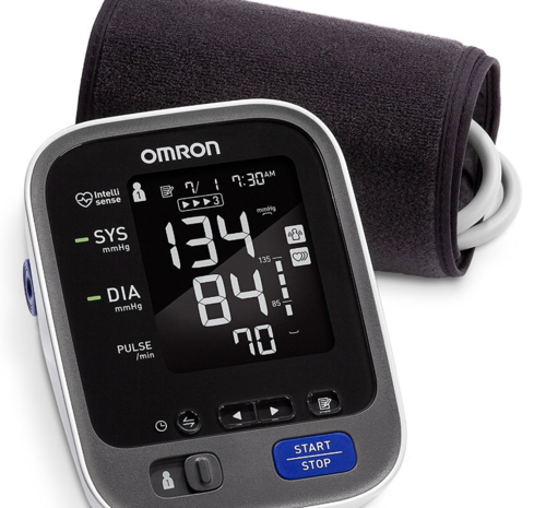 omron 10 series wireless upper arm blood pressure monitor
