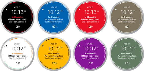 outlook watch faces