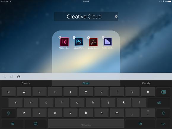 parallels access ipad folders