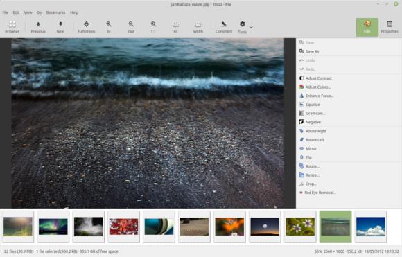 Linux Mint 18 Pix
