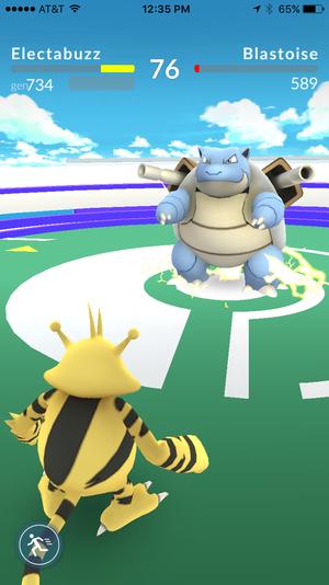 pokemon go impressions battle