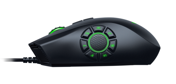 Mouse Gaming Naga Hex Razer V2