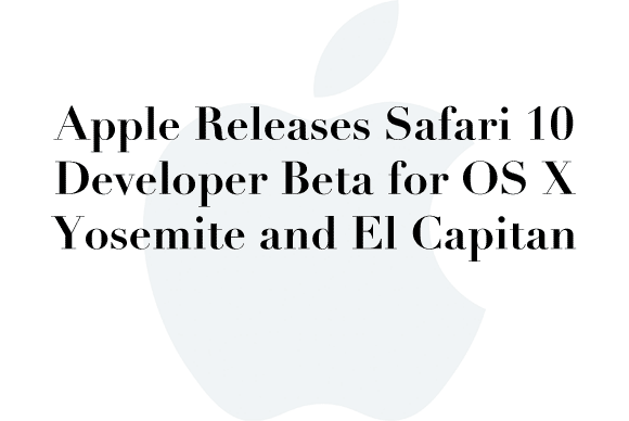safari beta yosemite elcap