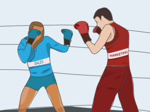 CMO vs. VP sales: The inevitable battle