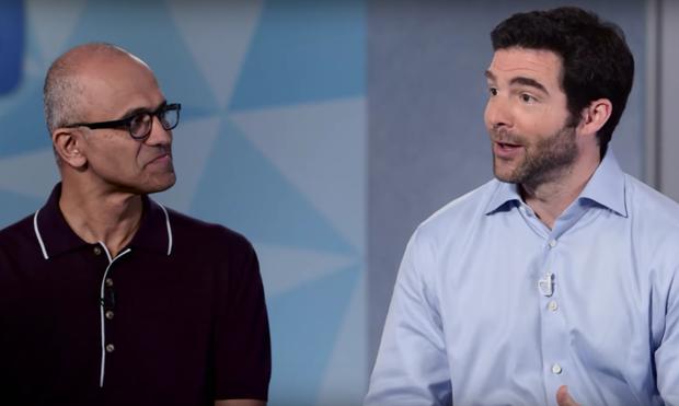 Microsoft LinkedIn satya nadella jeff weiner