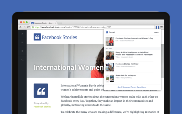 save to facebook chrome extension image 2