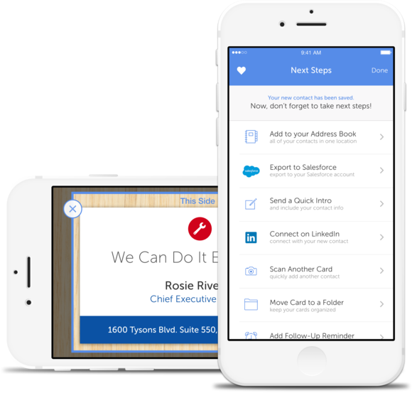 5 apps to help you digitally organize business cards macworld scanner app main more like this iphone business card scanners reheart Images