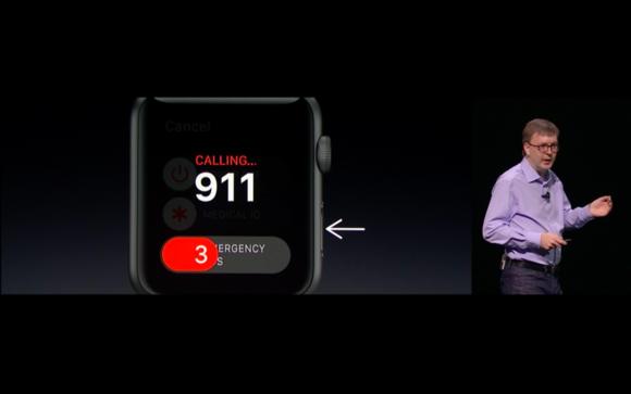 Apple Watch emergency