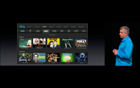 Sling for Apple TV