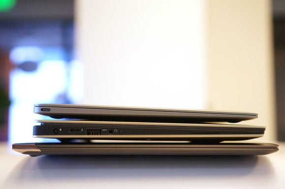 side of macbook xps 13 spectre 13.3