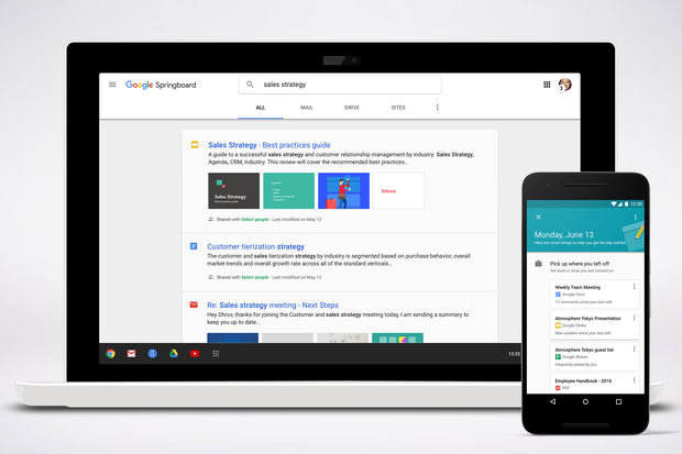 'Springboard' Is Google Now for Business