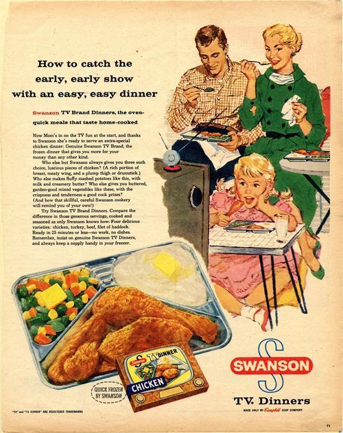 the list distracting tv dinner