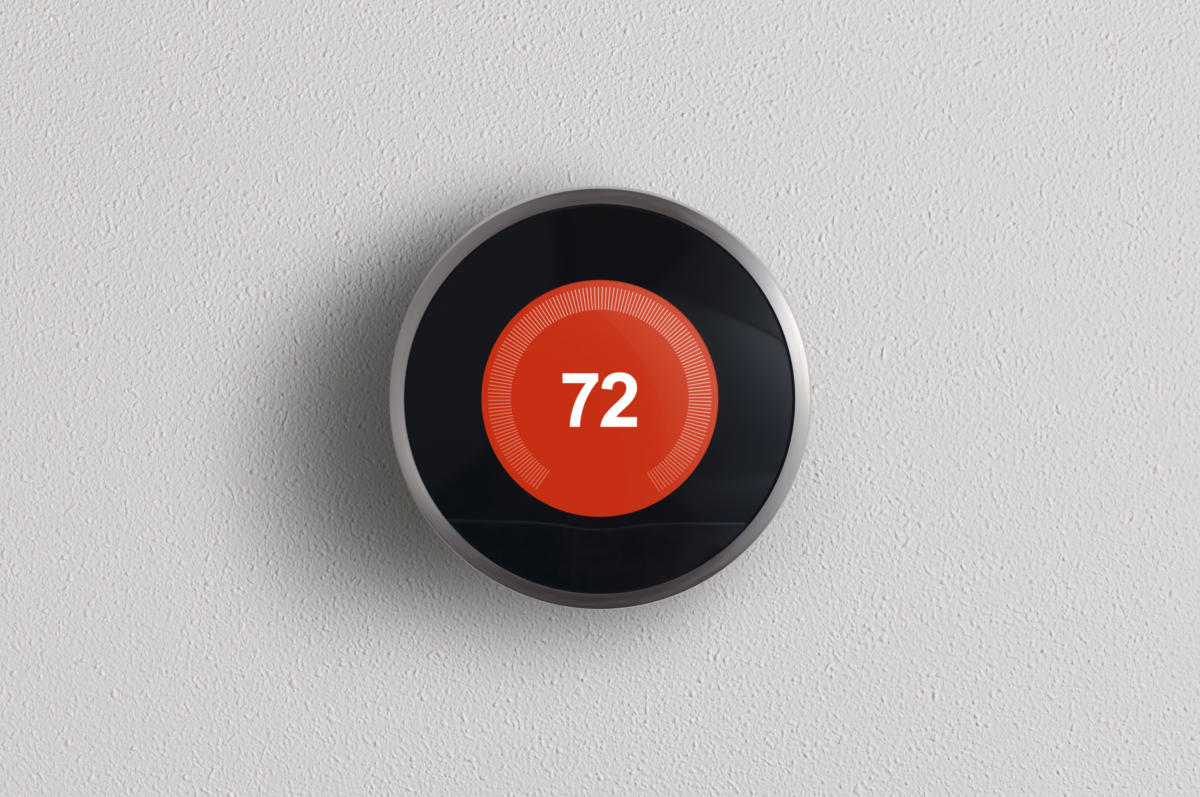 Nest thermostat internet of things