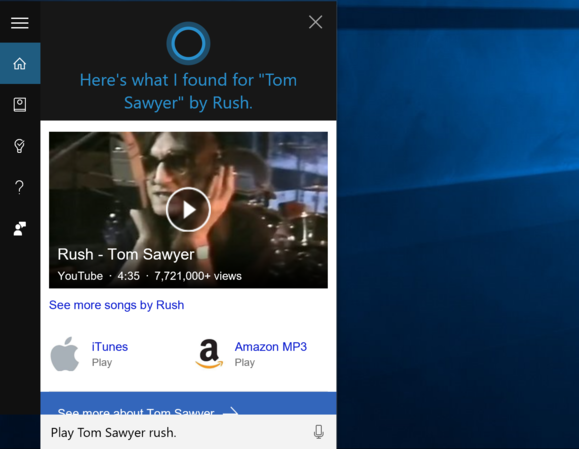 tom sawyer cortana