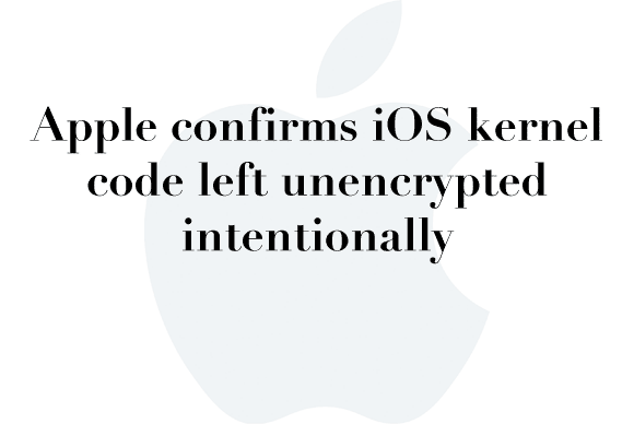 unencrypted ios