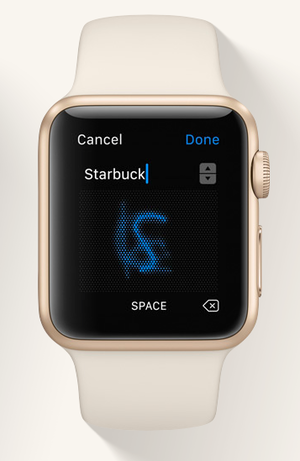 watchos3 scribble
