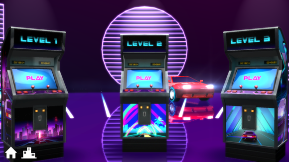 ysp neondrive arcade