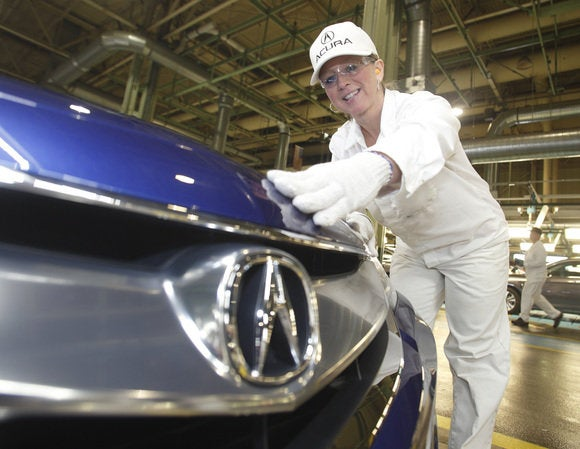 2016 acura ilx begins production in ohio