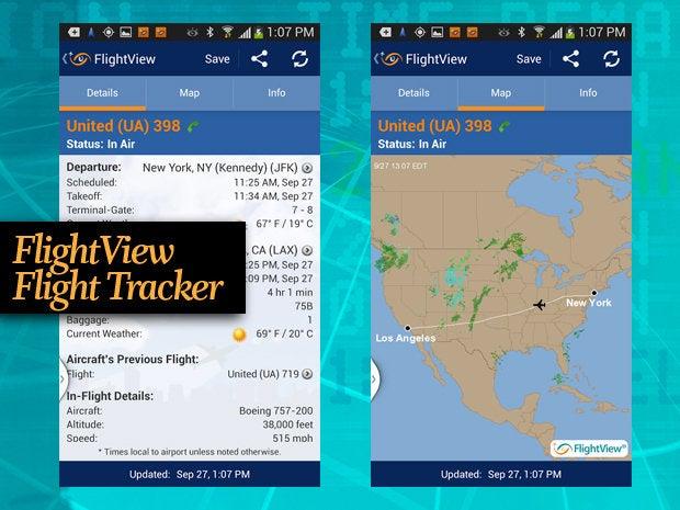 FlightView Flight Tracker travel app