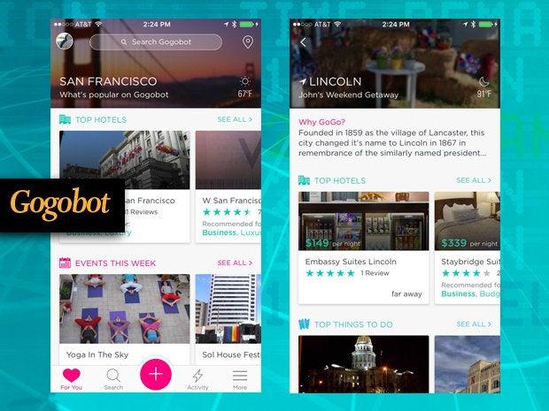 Gogobot travel app