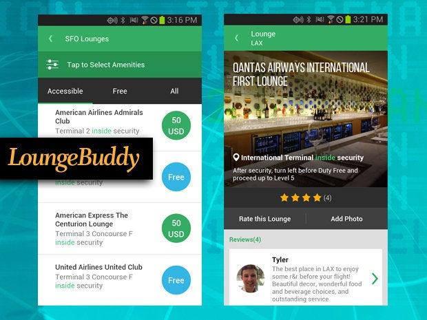 LoungeBuddy travel app