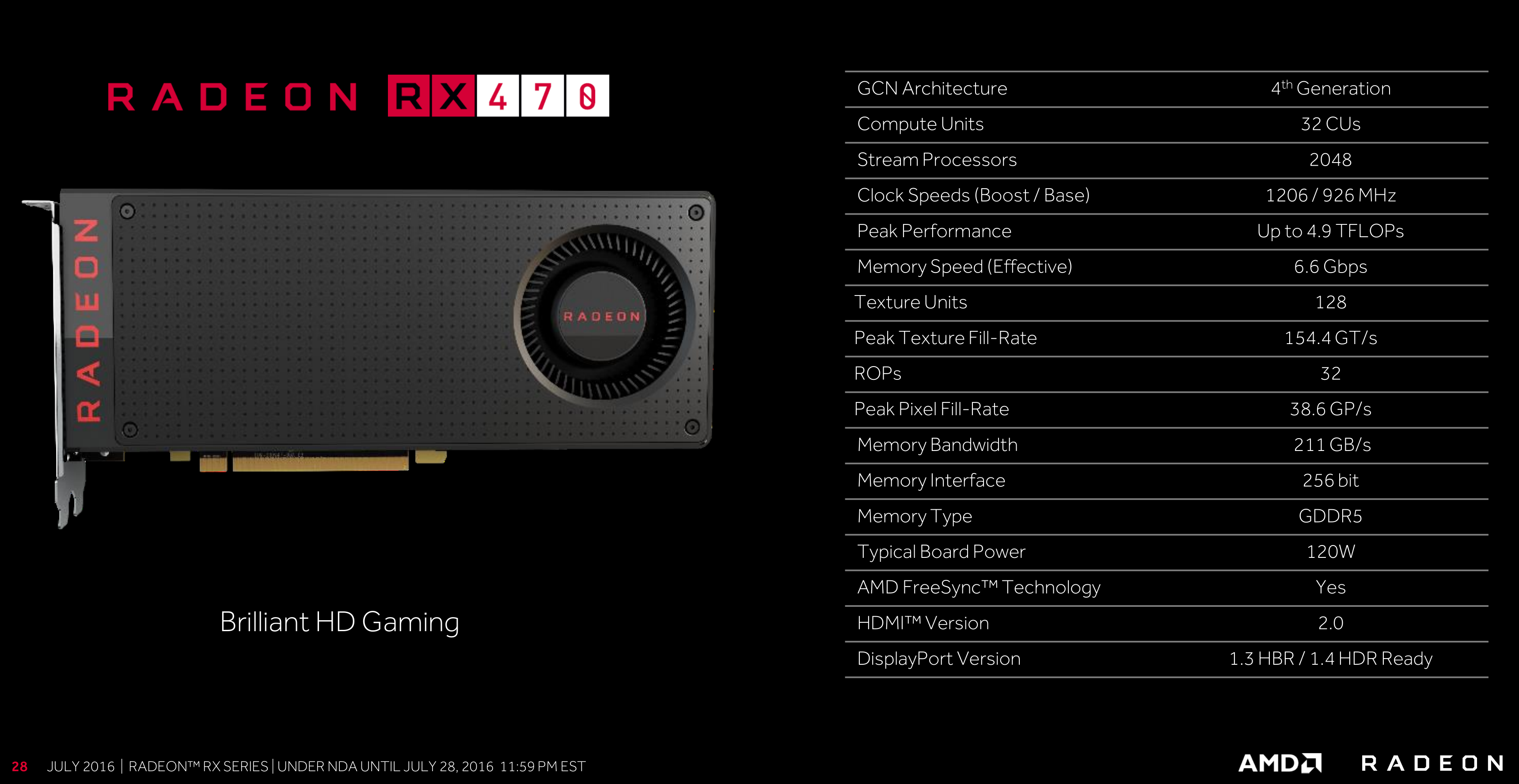 Full details revealed: AMD Radeon RX 470 and RX 460 specs