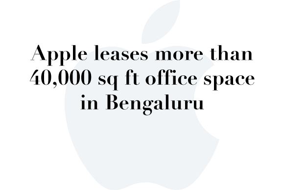 apple leases bengaluru