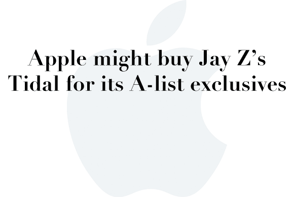 apple tidal rumors