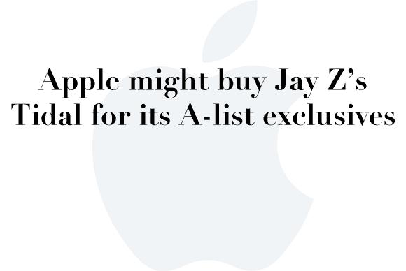 apple tidal rumors