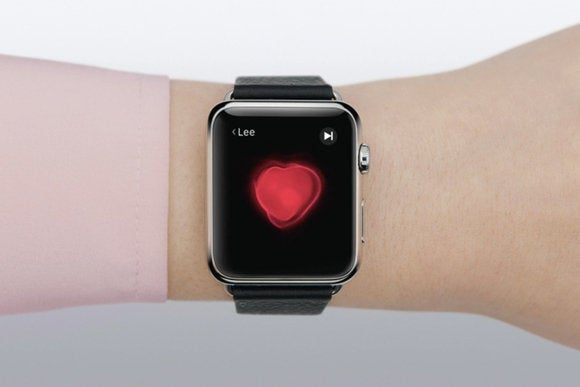 apple watch heartbeat
