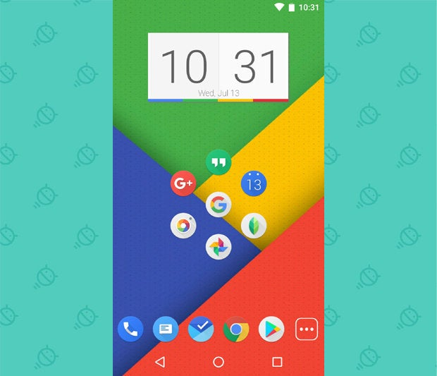 Awesome Android Home Screens: The Googley Minimalist (3)