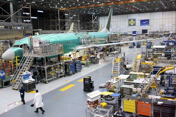google glass takes flight at boeing cio Boeing Aircraft boeing 737 max airplane