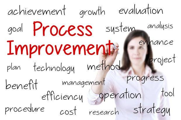 business woman writing process improvement concept 000070780061 medium