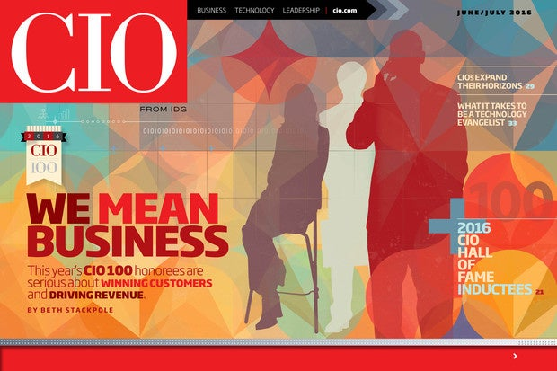 CIO June/July 2016 issue