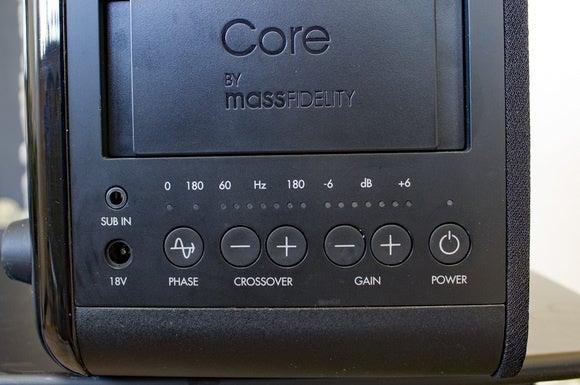 Mass Fidelity Core Sub controls