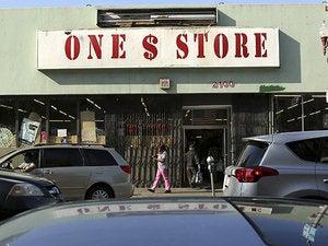 dollar store