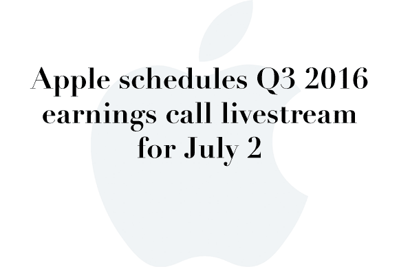 earnings call q3 2016