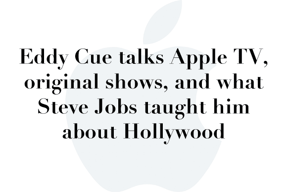 eddy cue apple tv