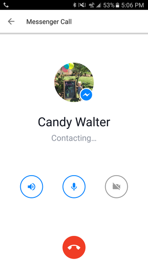 facebook messenger calls