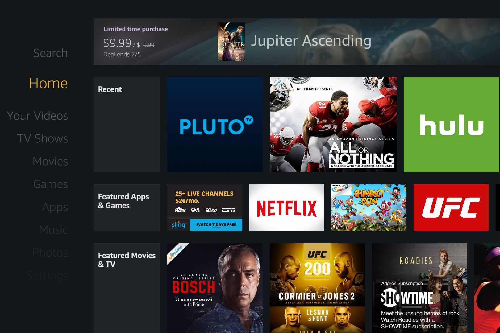 How to get amazon prime app on firestick