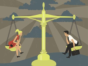 How workplace equality perceptions are shaped by gender