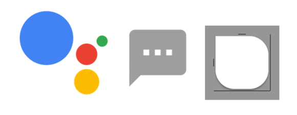 google assistant icons