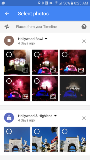 google photos maps