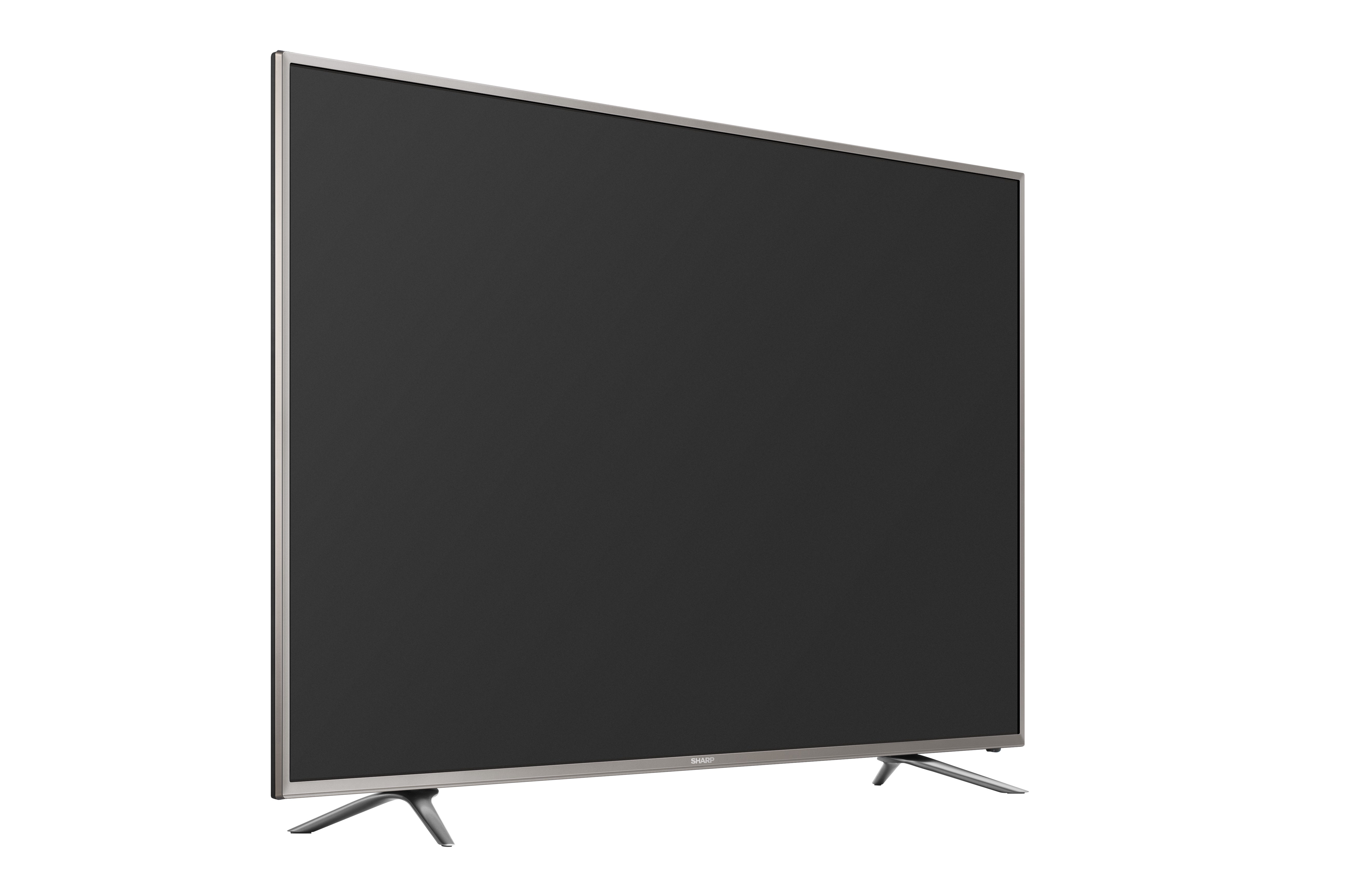 sharp 65 inch 4k tv. hu60k550uwg45to the right sharp 65 inch 4k tv