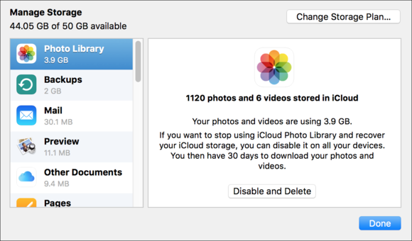 how to get photos off icloud storage