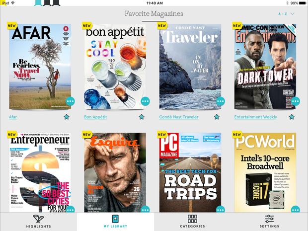 Texture iOS app
