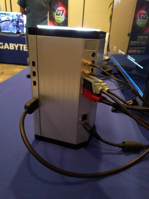 Gigabyte Brix Gaming UHD Back View