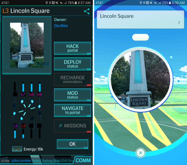 Why Pokémon Go fans should (or shouldn't) play Ingress | Greenbot on intelligence world map, fire emblem awakening world map, eclipse world map, chrono trigger world map, java world map, tigress world map, niantic intel map, nestle world map, tiger world map, android world map, inverse world map,